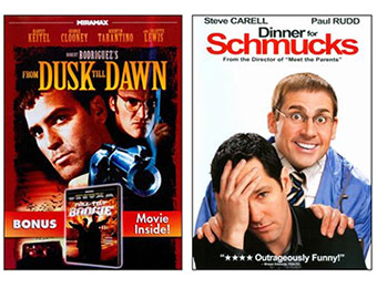 DVD Movies on sale for $1.99 + Free Shipping - Up to 90% off!