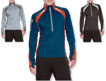 40% Off Men's SportHill Ultimate Visibility Zip Top