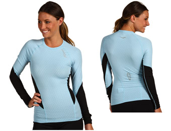70% Off Saucony AMP PRO2 Training Women's Long Sleeve Shirt