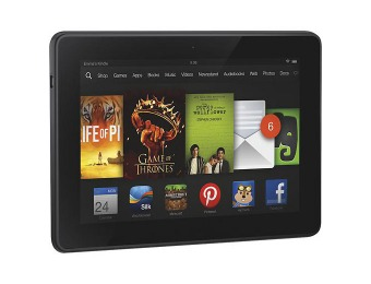 43% off 16GB Kindle Fire HDX, Wi-Fi + 4G LTE (AT&T)