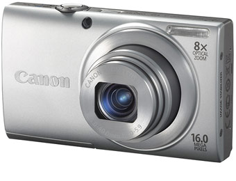 $81 Off Canon PowerShot A4000 IS 16MP Digital Camera