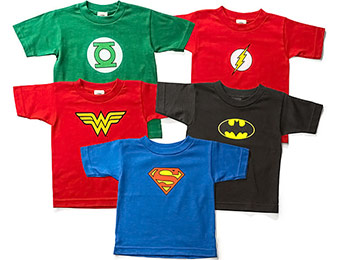 50% off Superhero Toddler Tees