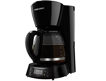 50% off Black & Decker BCM1410B 12-cup Coffee Maker