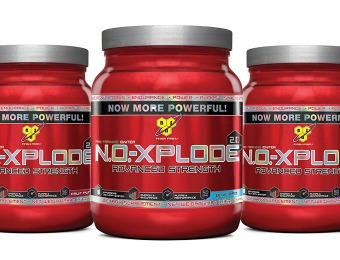 45% off N.O.-Xplode 2.0 Powder with Free 10-Serving Sample