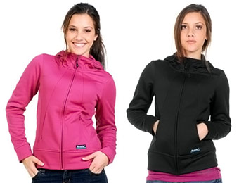 53% off Nicole Hodsdon Women's Lightweight Fleece Zip Jacket
