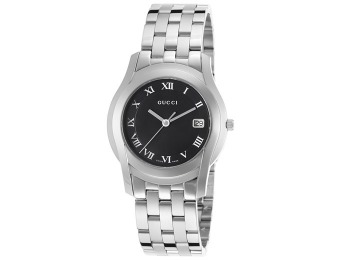 56% off Gucci YA055302 Women's 5505 Stainless Steel Swiss Watch