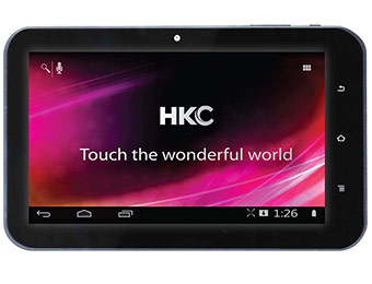 "$30 off HKC 7"" Touchscreen Android 4.0 Internet Tablet (16GB)"