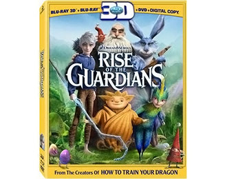 49% off Rise of the Guardians Blu-ray 3D (3 Disc Combo)