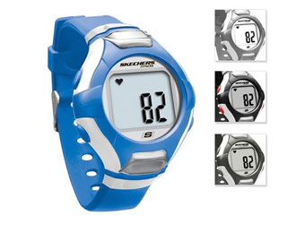 $42 Off Skechers Heart Rate Monitor Watch, 4 Colors Available