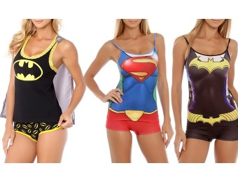 33% off Women's Undergirl & DC Comics Cami and Shorts PJ Sets