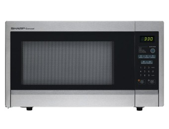 40% off Sharp R-331ZS 1.1 Cu. Ft. Mid-Size Microwave