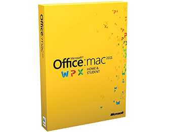 Extra $60 off Office for Mac Home and Student 2011