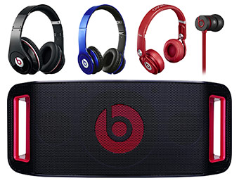 12% Off + Free Shipping on Beats Headphones and Speakers