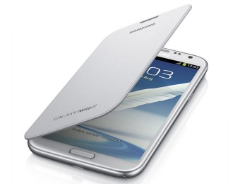 Free Galaxy Note II and S4 Flip Covers, Multiple Styles
