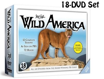 70% Off Marty Stouffer's Wild America Plus Specials 18-DVD Set