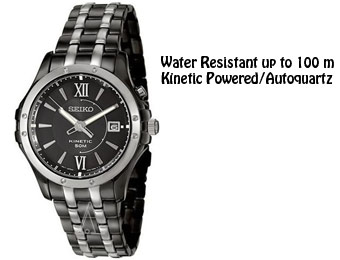 71% Off Seiko Kinetic Two-tone Men's Stainless Steel Watch