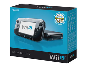 Currently In Stock - Nintendo Wii U Console Deluxe Set