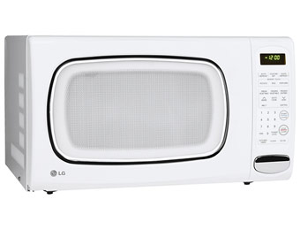 $70 Off LG LCS1410SW 1.4 Cu. Ft. Counter Top Microwave Oven