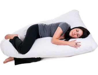 64% off Remedy Full Body Contour U Pillow for Pregnant Women