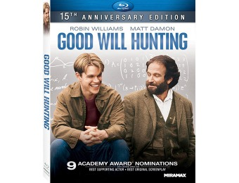 50% off Good Will Hunting (15th Anniversary Edition) Blu-ray
