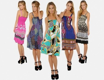81% off 4-Pack Women's Floral Print Sundresses