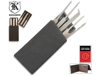 38% off Secure Pro Credit Card Lock Pick Set
