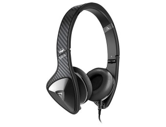61% off Monster DNA On-Ear Headphones - Black Carbon Fiber