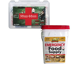 Extra $10 off Emergency Preparedness Food 12 Day Supply Bundle