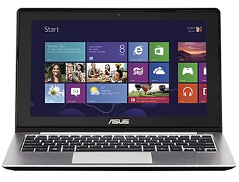 "Deal: Asus 11.6"" HD Touch-Screen Laptop (Core i3/4GB/500GB)"