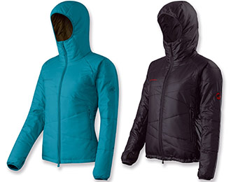 52% off Mammut Pike Insulated Women's Jacket (black or ocean)