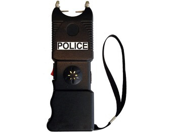 $34 off Police 19,300,000 V Heavy Duty Stun Gun w/ Flashlight & Siren