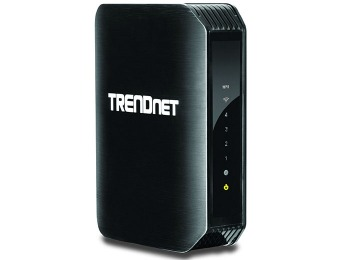 60% off TRENDnet N300 Wireless Gigabit Router, TEW-733GR