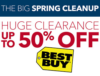 Big Spring Cleanup - Huge Clearance up to 50% off!