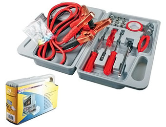 68% off Compact Roadside Emergency 29pc Auto Tool Kit