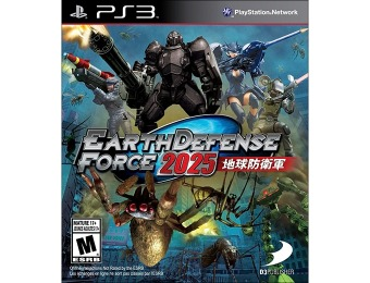 61% off Earth Defense Force 2025 - Playstation 3
