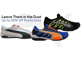Up to 40% off Puma Shoes