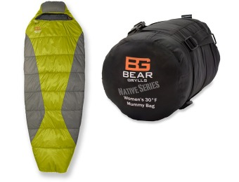 57% off Bear Grylls 30 Thermolite Synthetic-Fill Mummy Sleeping Bag