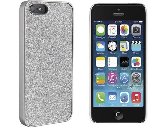 97% off Dynex Silver Glitter Case for Apple iPhone 5 and 5s