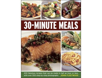 75% off 30-Minute Meals: 200 Fabulous Recipes Cookbook