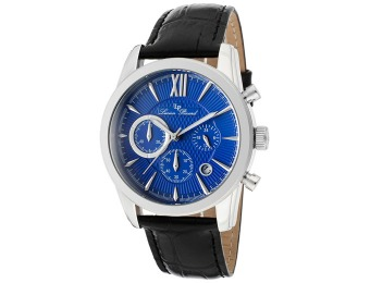 93% off Lucien Piccard Mulhacen Chronograph Leather Men's Watch