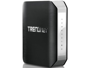 $193 off TRENDnet Wireless AC1900 Dual Band Gigabit Router
