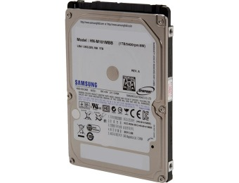 "39% off Samsung Spinpoint M8 1TB 2.5"" Internal Notebook Hard Drive"