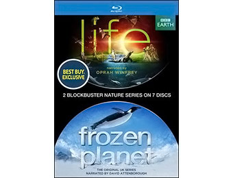 15% off Life and Frozen Planet on Blu-ray