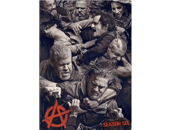 70% off Sons of Anarchy: Season 6 DVD