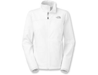 55% off The North Face Canyonwall Women's Fleece Jacket - White