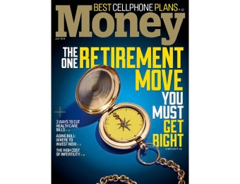 79% off Money Magazine Subscription, $9.95 / 12 Issues