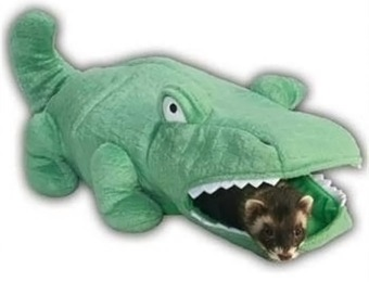 46% off Marshall Hide-N-Sleep Alligator Ferret Hideaway