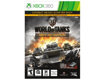 35% off World of Tanks: Xbox 360 Edition Combat Ready Starter Pack
