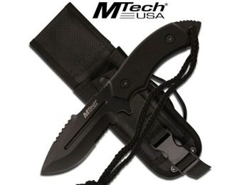 "41% off MTECH USA Fixed Blade Knife, 8"" Overall (MT-20-18DBK)"
