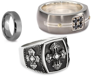 Save Up To 75% Off Men's Designer Jewelry